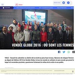 QUEL PUBLIC POUR LE VENDEE GLOBE ? Où sont les femmes ? (LCI)
