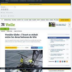 Vendée Globe : l'écart se réduit entre les deux bateaux de tête