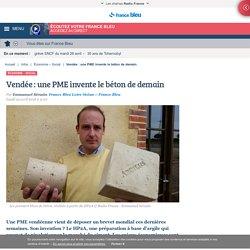 Vendée : une PME invente le béton de demain