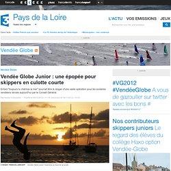 Vendée Globe Junior : une épopée pour skippers en culotte courte