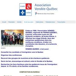 Vendée-Québec » Vie de l'association
