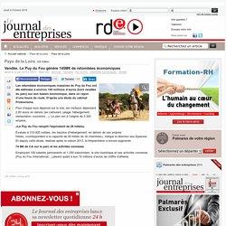 Pays de la Loire - Vendée. LePuy du Fougénère 145M€de retombées économiques