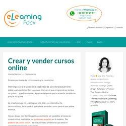 Crear y vender cursos online - e-Learning Fácil