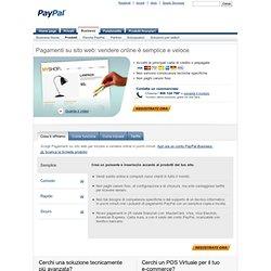 Vendere online con Pagamenti su sito web - PayPal Italia