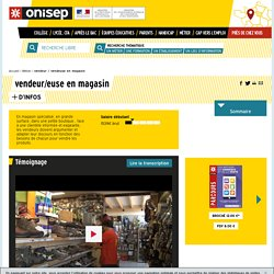 vendeur en magasin - vendeuse en magasin