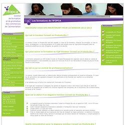 CQP Vendeur Conseil - Caviste - Produits bio - Fruits et légumes - Crémier Fromager