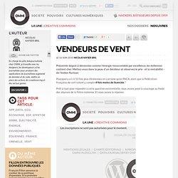 Vendeurs de vent » Article » owni.fr, digital journalism