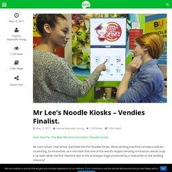 Mr Lee's Noodle Kiosks - Vendies Finalist.
