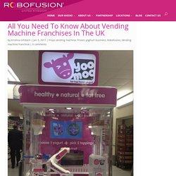Best Commercial Frozen Yoghurt Kiosk In UK