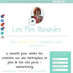 Vendre tes créations sur une marketplace en plus de ton site