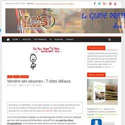 Vendre ses oeuvres : 7 sites idéaux - nabismag