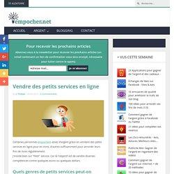 Vendre des petits services en ligne