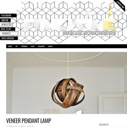Veneer Pendant Lamp