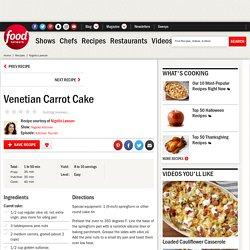 Venetian Carrot Cake Recipe