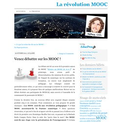 De l'intérêt du débat dans les MOOC