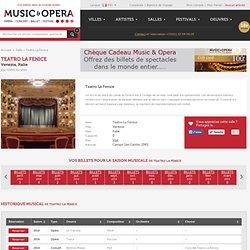 Réservez dès maintenant vos billets pour le Teatro La Fenice - Venise