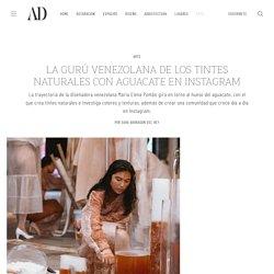 La gurú venezolana de los tintes naturales con AGUACATE en Instagram