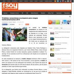 Triatletas venezolanos se preparan para Juegos Centroamericanos 2014