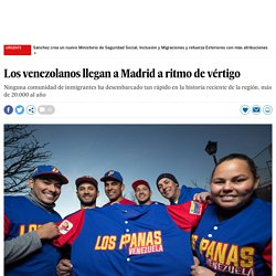 Los venezolanos llegan a Madrid a ritmo de vértigo