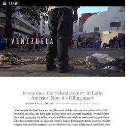 Venezuela: Latin American Country Faces Economic Free Fall