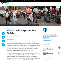 Venezuela Exports Its Crisis - Bloomberg View