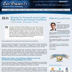 Reprise] Le Venezuela avant et après Hugo Chávez, par François Asselineau