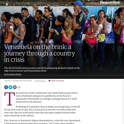 Venezuela on the brink: a journey through a country in crisis