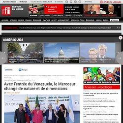 2012 Venezuela et Mercosur