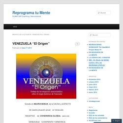 venezuela el origen
