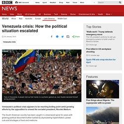 1/24/19: Venezuela crisis –How the political situation escalated