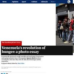 Venezuela's revolution of hunger: a photo essay