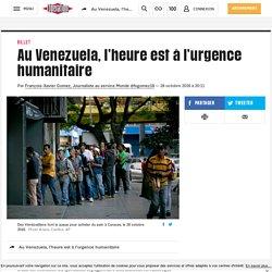Au Venezuela, l'heure est à l'urgence humanitaire