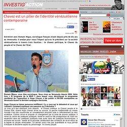 Chavez est un pilier de l'identité vénézuélienne contemporaine
