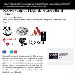 Da dove vengono i loghi delle case editrici italiane