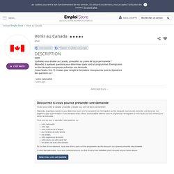 Venir au Canada