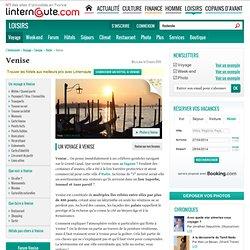 Venise - Guide de voyage - Tourisme