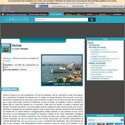 Venise en italien Venezia