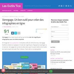 Vengagge. Un bon outil pour créer des infographies en ligne – Les Outils Tice