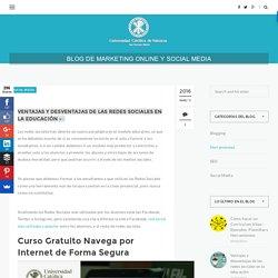 Ventajas y desventajas de las redes sociales en la educación