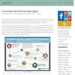 10 ventajas del libro de texto digital