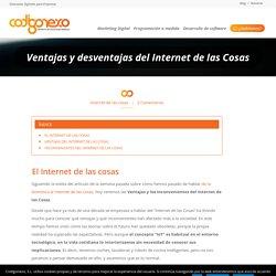 Ventajas e Inconvenientes del Internet de las Cosas