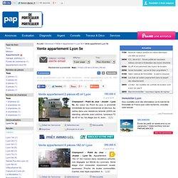 Vente appartement Lyon 5e, Lyon 9e, Sainte-Foy-lès-Lyon (69110) à partir de 3 chambres jusqu'à 250.000 euros à partir de 60 m²