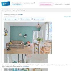 Vente appartement 3pièces 47m² Paris 11E - 47m² - 525.000€