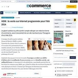 H&M : la vente sur Internet programmée pour l'été 2014