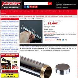 vente laser point rouge 100mw puissant pas cher