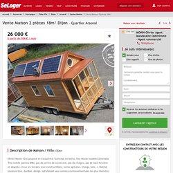 Vente maison 2 pièces Dijon - maison F2/T2/2 pièces 18m² 26000€