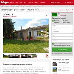La Brède -6 pièces 150m² 289000€