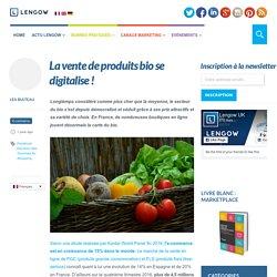 La vente de produits bio se digitalise !