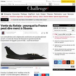 Exportation du Rafale : pourquoi Dassault peut dire merci à Barack Obama