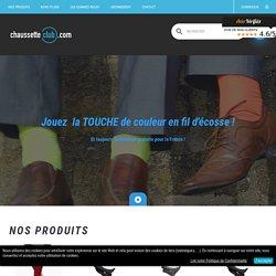 Vente en ligne de chaussettes hautes en laine pour homme - ChaussetteClub